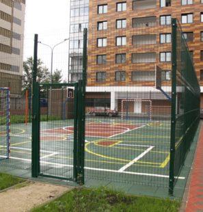 ограждение для детских и спортивных площадок
